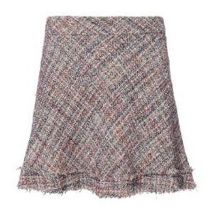 IRO Tweed Mini Skirt (Never Worn)